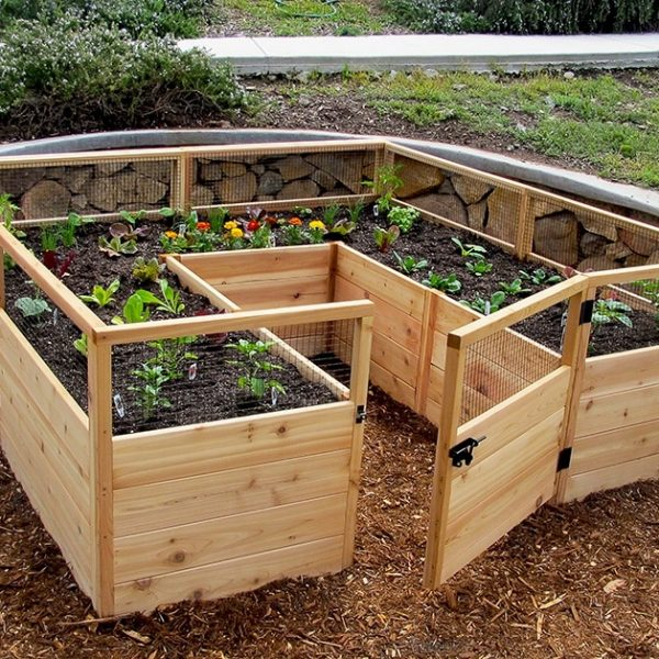 Garden in a Box Kit   8 x 8