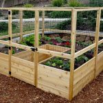 Garden in a Box Kit with Deer Fence Kit   8×8