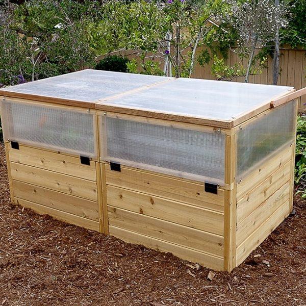 Greenhouse Kit with Raised Garden   6×3