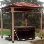 9'x9′ Naramata Spa Shelter