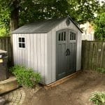 Lifetime 8 Ft. x 7.5 Ft. Outdoor Storage Shed