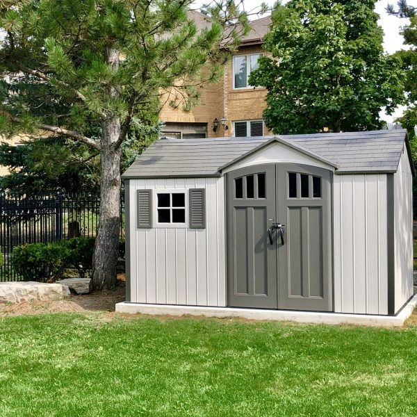 Lifetime 12.5 ft. x 8 ft. Outdoor Storage Shed