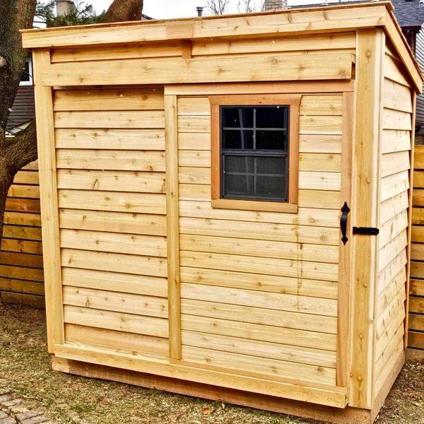 OLT GardenSaver Sliding Door Storage Shed