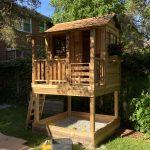 Little Cedar Playhouse & Sandbox   6×6