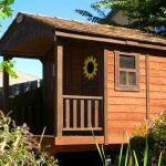 Sunflower Playhouse & Sandbox