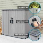 Lifetime 6 ft. x 3 ft. Utility Shed