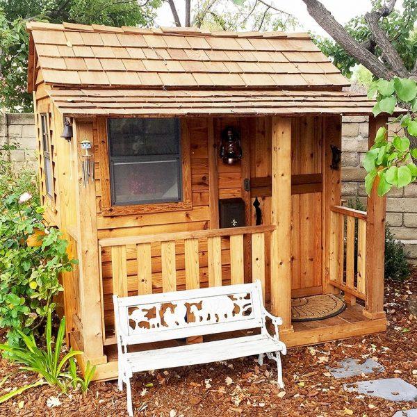 Little Cedar Playhouse   6×6